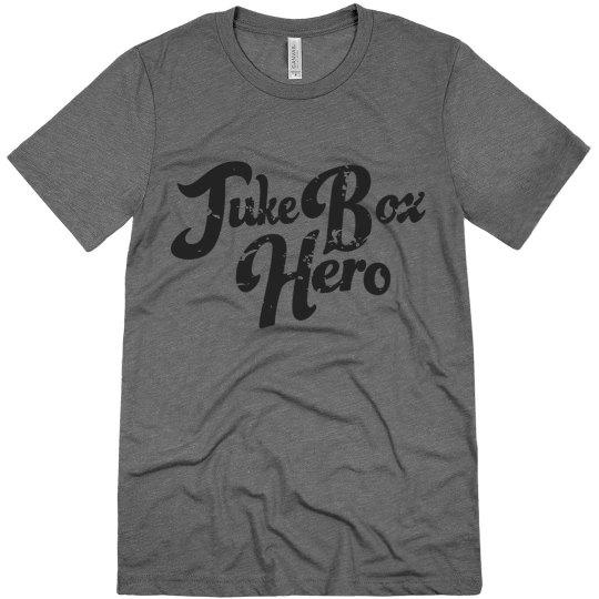 Juke Box Hero   Unisex Triblend Tee