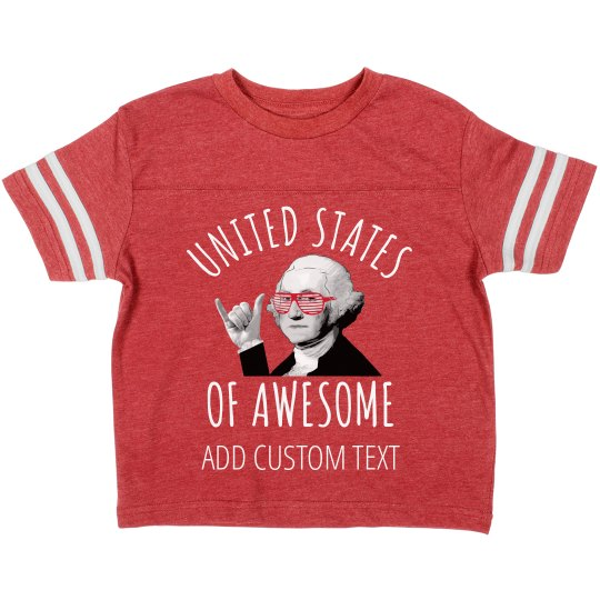 July 4th United States Awesome Kiddo