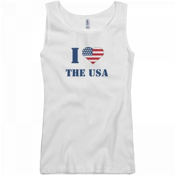 July 4th USA Love