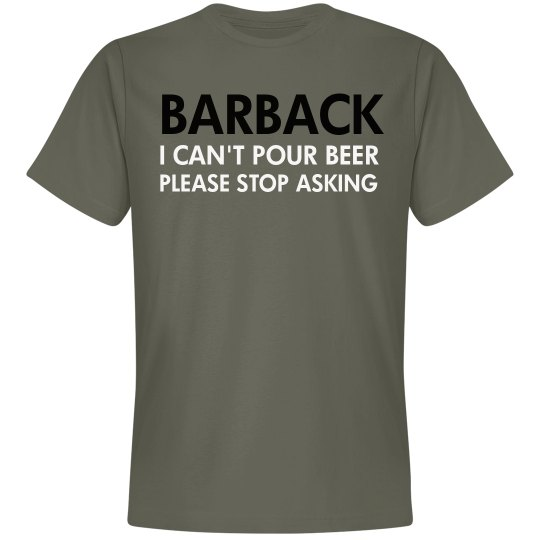 Just A Barback
