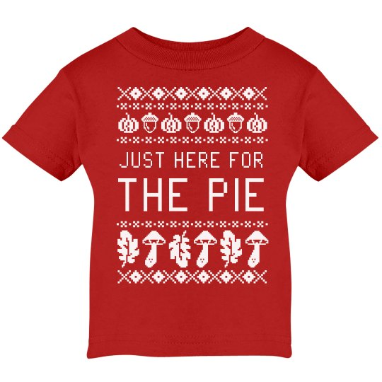 Just Here For The Pie Sweater