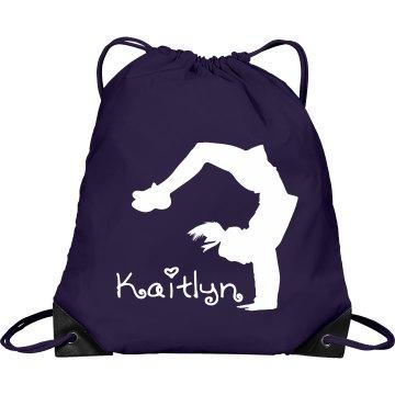 Kaitlyn cheerleader bag