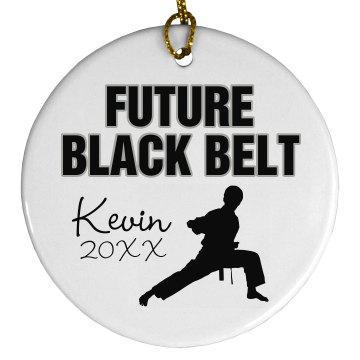 Karate Ornament