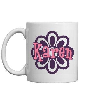 Karen's Coffee Mug
