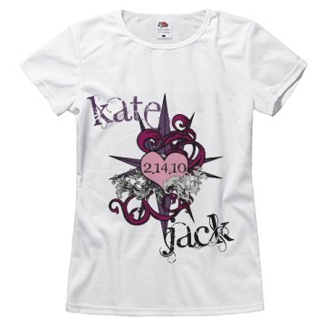 Kate and Jack Valentines