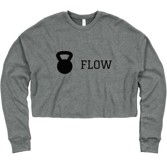 KB Flow Crop Sweatshirt