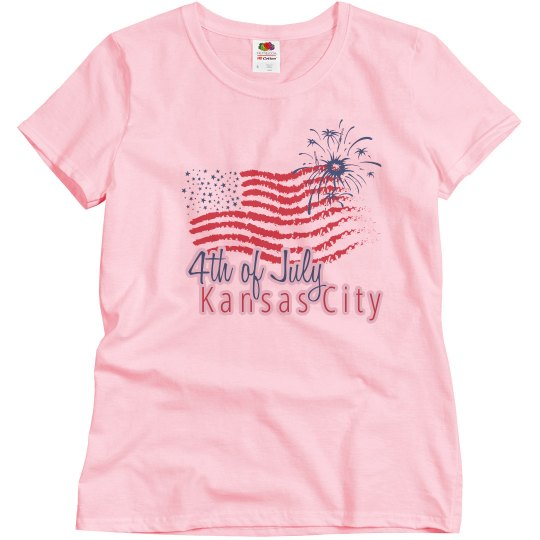 KC 4th of July - White - Misses