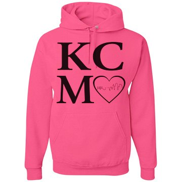 KCMO Heart of the City NEON Hoodie