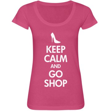 Keep Calm & Go Shop