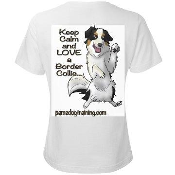 Keep Calm & love a Border Collie