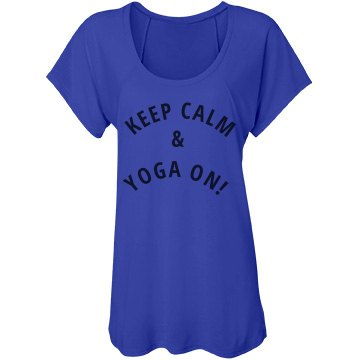 Keep Calm & Yoga On!