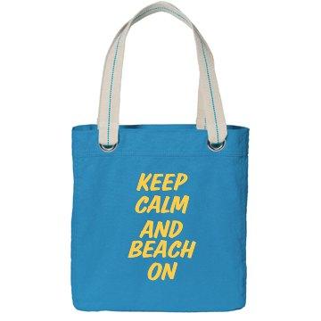 Keep Calm And Beach On