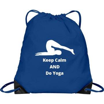 Keep Calm and Do Yoga Bag