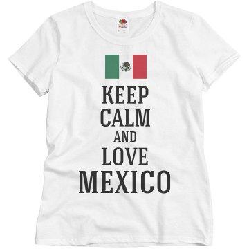 Keep calm and love Mexico