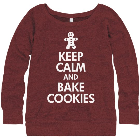 Keep Calm Bake Cookies
