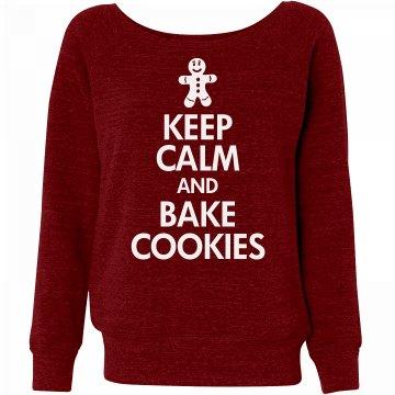 Keep Calm Bake Cookies
