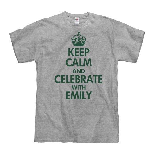 Keep Calm Basic Green