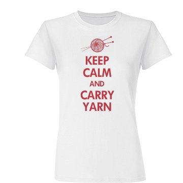 Keep Calm Carry Yarn