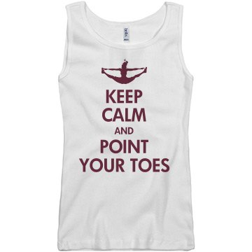 Keep Calm Cheerleading