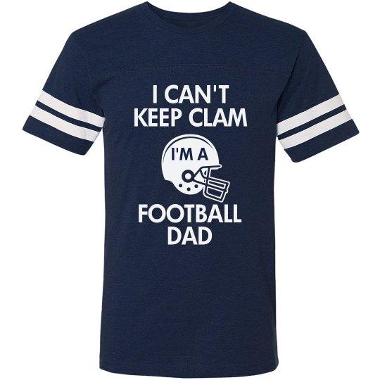 Keep Calm Football Dad