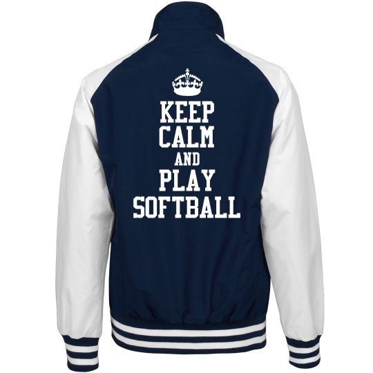 Keep Calm For Softball