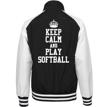 Keep Calm For Softball