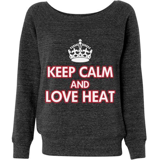 Keep calm heat