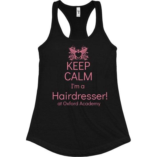 keep calm I'm a hairdress