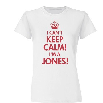 Keep Calm Jones Reunion