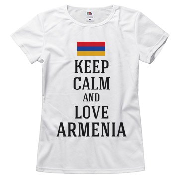 Keep calm love Armenia