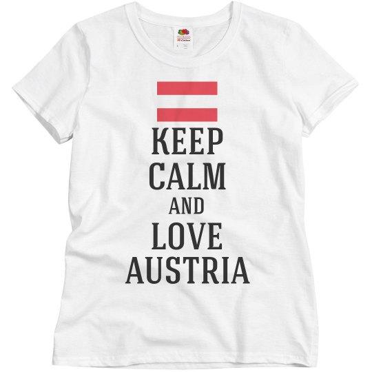 Keep calm love austria