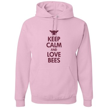 Keep calm love bees