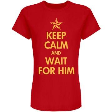 Keep Calm Military Love