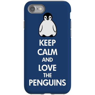 Keep Calm Penguin Case