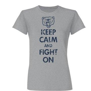 Keep Calm School Mascot