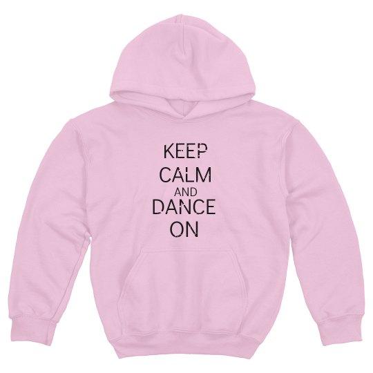 Keep Calm Sweatshirt-Youth