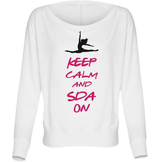 Keep Calm Top-Adult