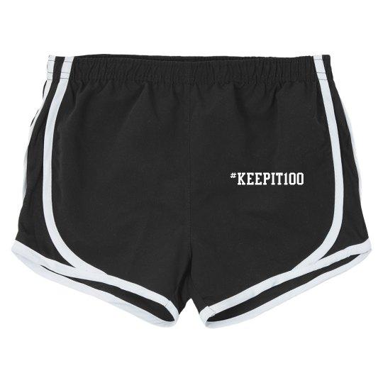 #keepit100 shorts