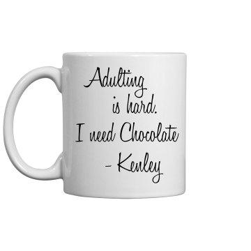 Kenley Adulting Mug