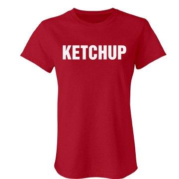 Ketchup Couples Shirt