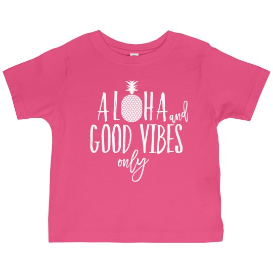 Kids Aloha & Good Vibes Only