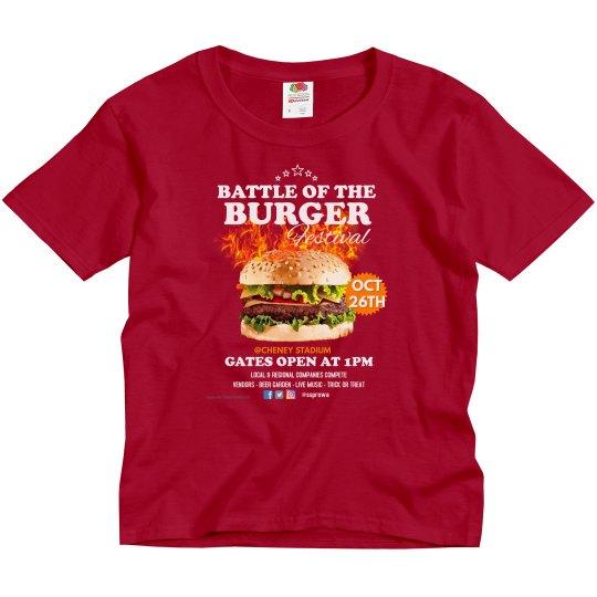 Kids Battle of the Burger