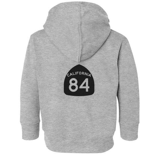 Kids CA 84 Hoodie - Back