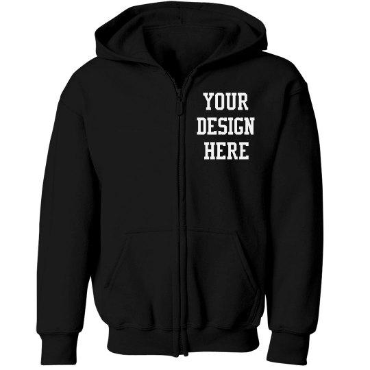 Kids Custom Design Group Hoodies