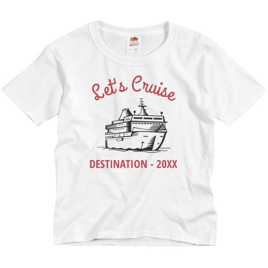 Kids Custom Let's Cruise