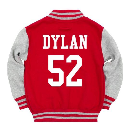 Kids' Custom Name/Number Jacket