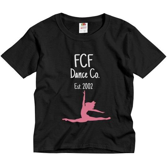 Kids FCF Dance Co. T-shirt
