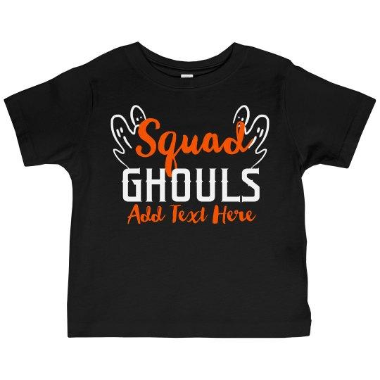Kids Halloween Squad Ghouls