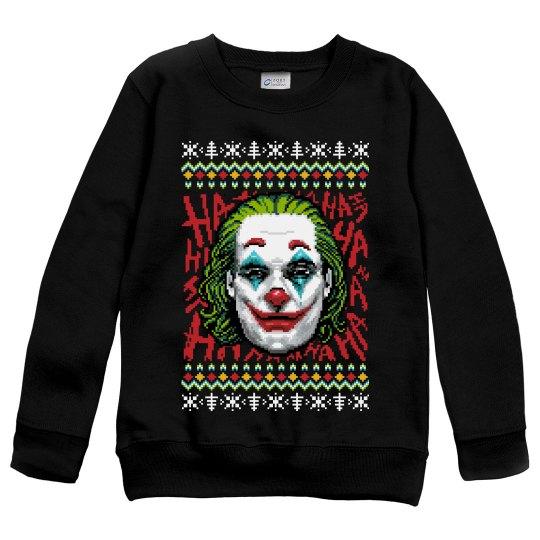 Kids Joker 2019 Movie Xmas Sweater