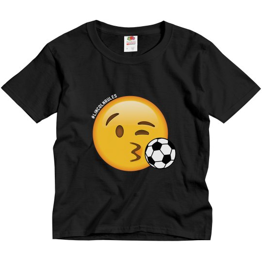 KIDS: Lincoln Rules Soccer (dark colored tees)